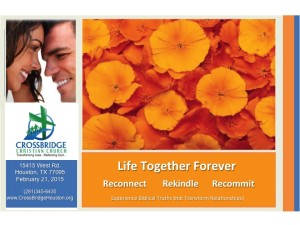 Life Together Forever Crossbridge Christian Fellowship